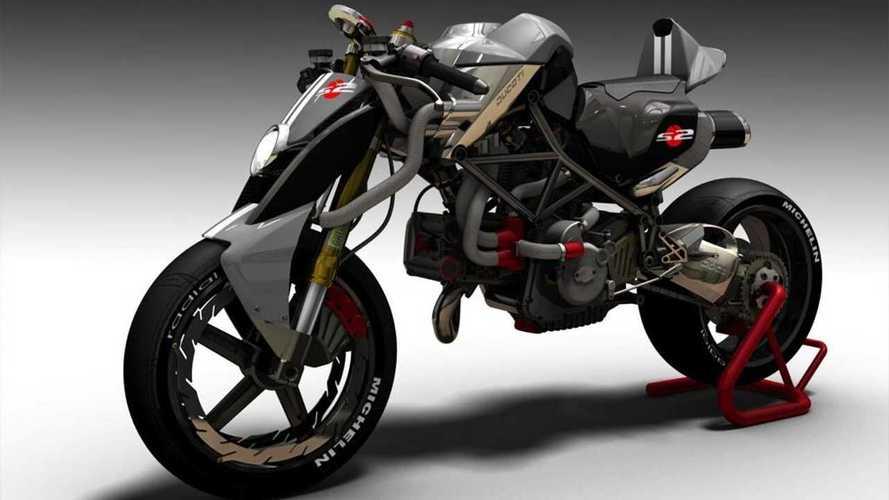 Automotive Designer Turns Ducati Monster Into A Monstrosity