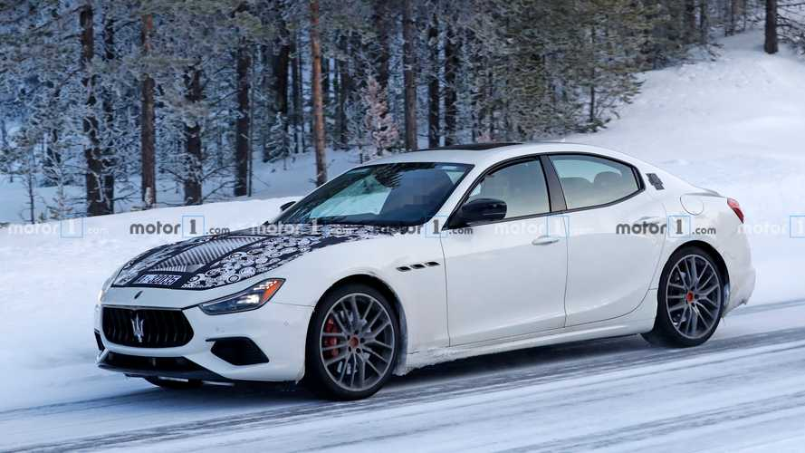 Maserati Ghibli refresh spied not hiding much