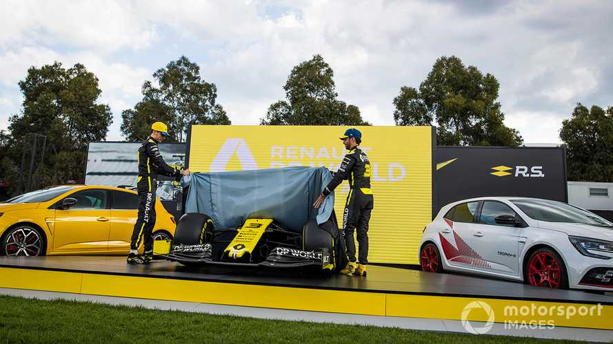 Renault F1 Team R.S.20 livery reveal