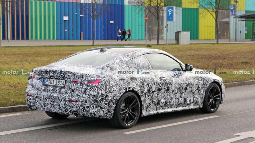 BMW Serie 4 2020, fotos espía