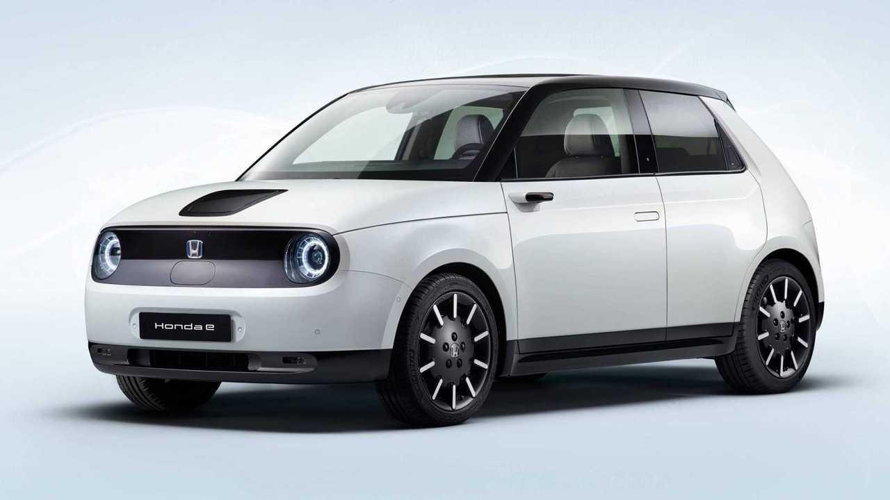 Honda e (début 2020)
