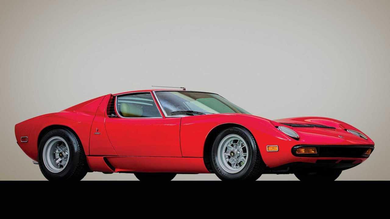 Rare Dry-Sump 1971 Lamborghini Miura SV Heading To Auction