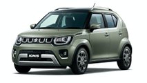 Suzuki Ignis restyling, le foto giapponesi