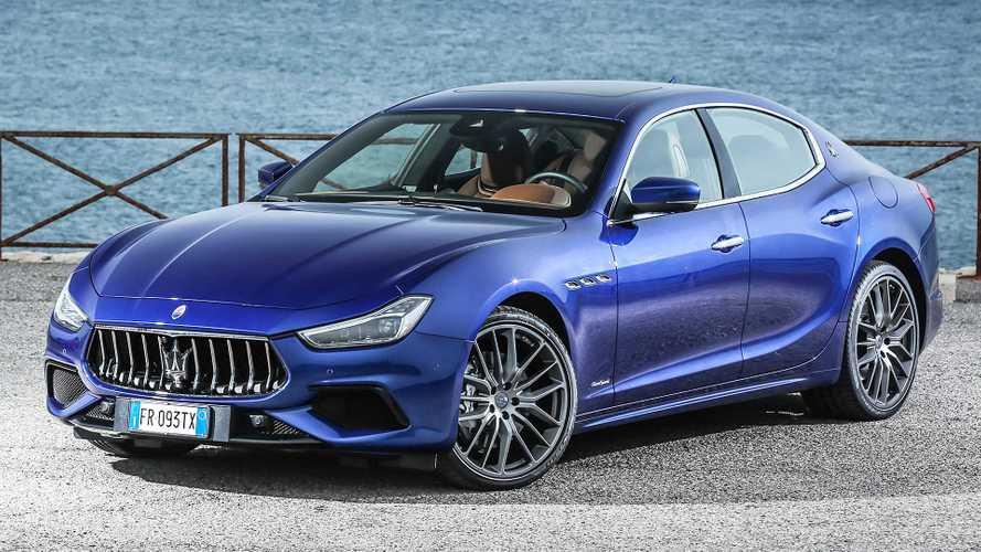 Maserati Ghibli, la plug-in arriva ad aprile