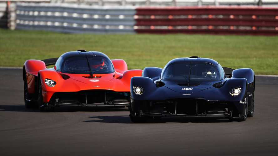 See The Aston Martin Valkyrie In Action At Silverstone