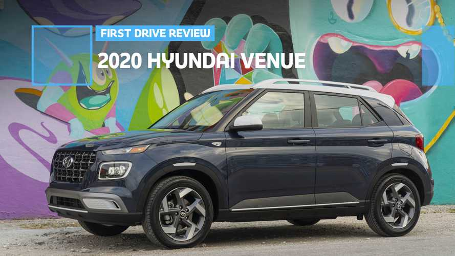 2020 Hyundai Venue First Drive Review: Small But Mighty