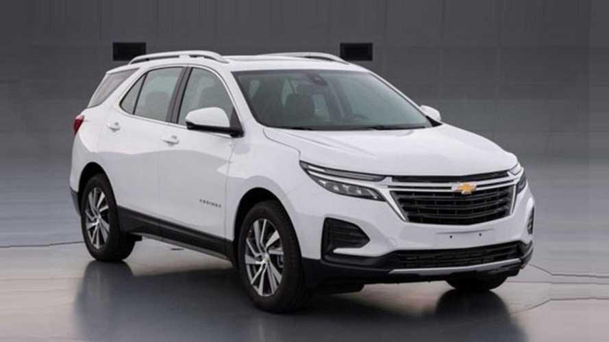 Vazou: Chevrolet Equinox 2021