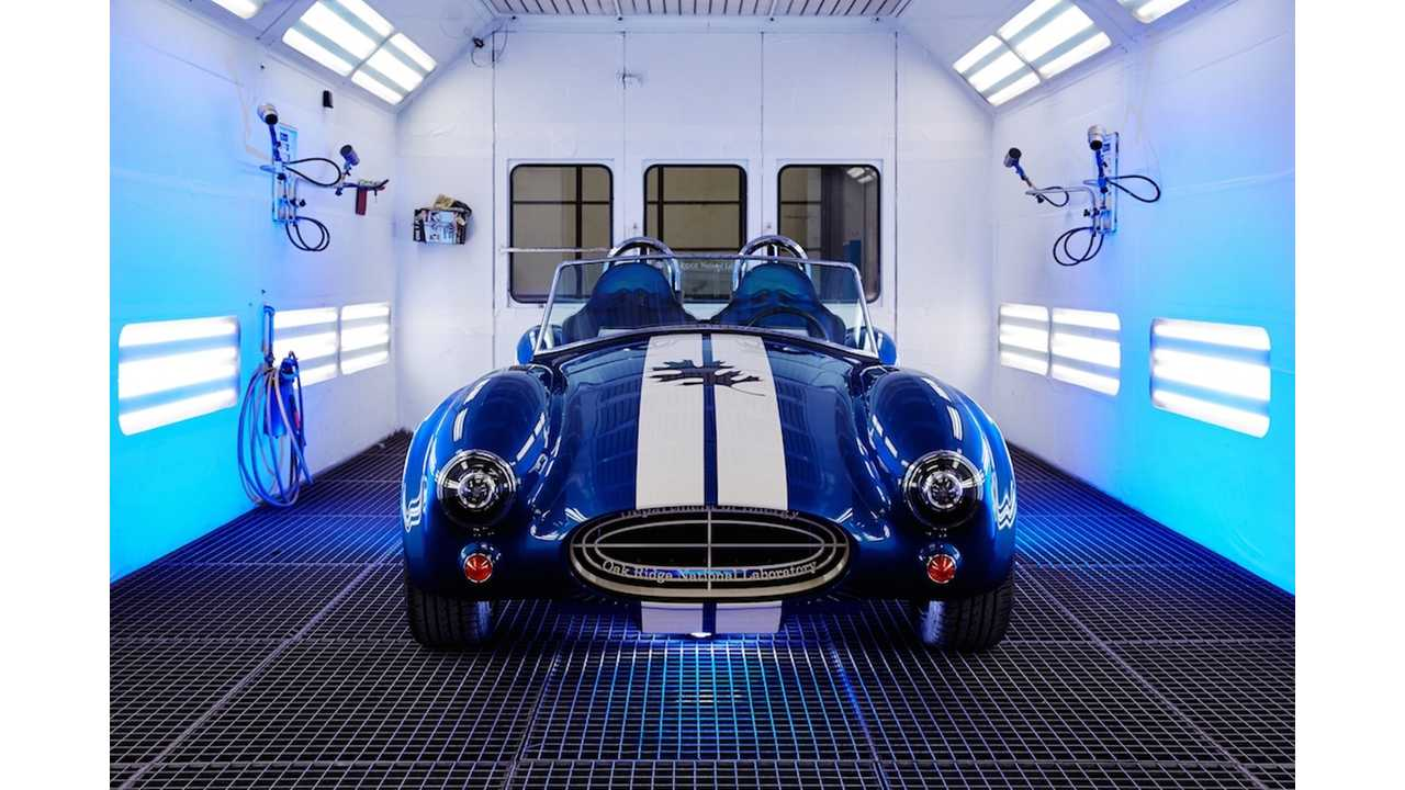 Electric Shelby Cobra (Click to enlarge to 1,900 x 1,267)