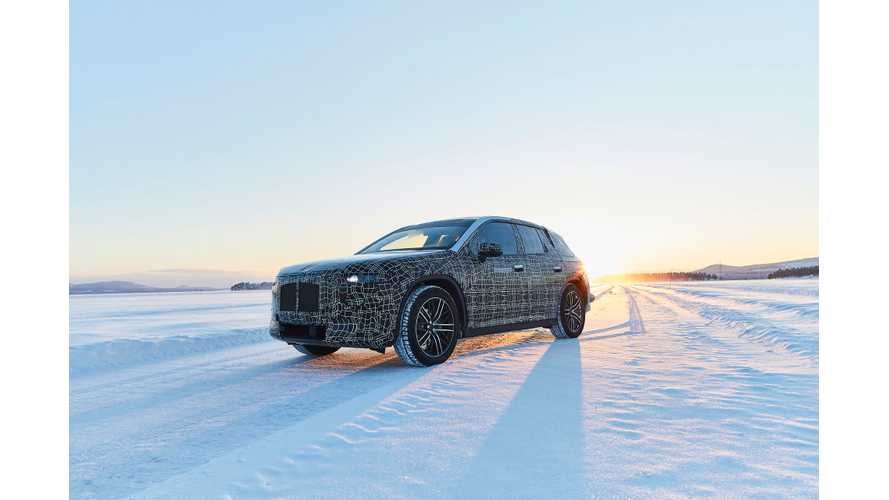 BMW iNEXT Prototype Tested On Snow In Sweden
