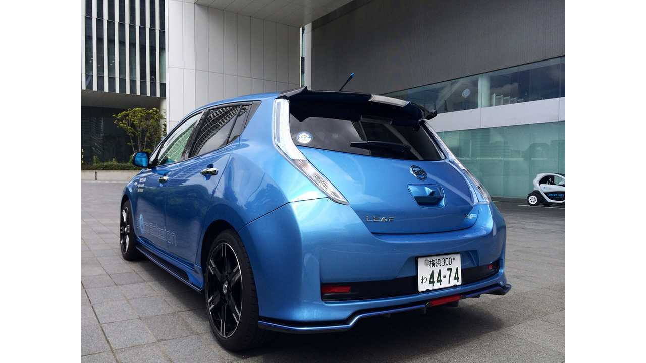 Here is a Nissan LEAF Nismo…Yes, we badly want one.