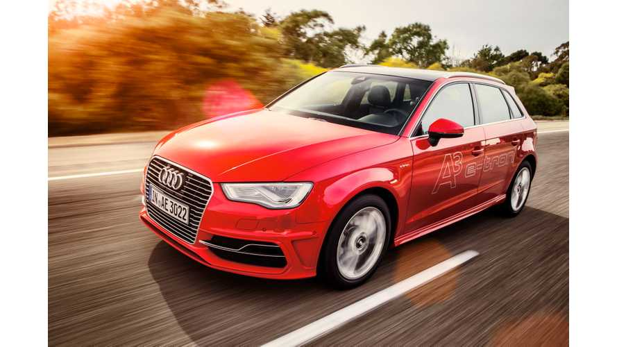 Audi A3 e-tron Production Now At 50 Units Per Day