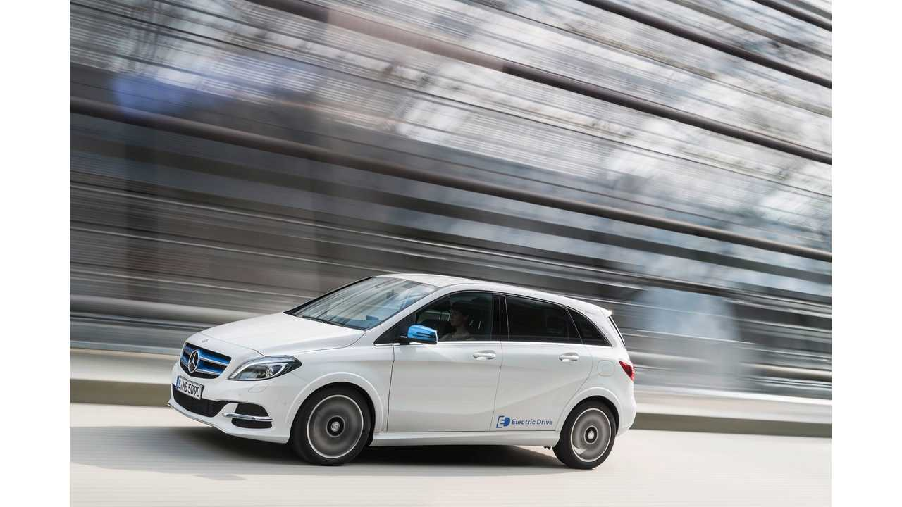 Mercedes-Benz B-Class Electric Drive To Go On Sale In Europe November 3
