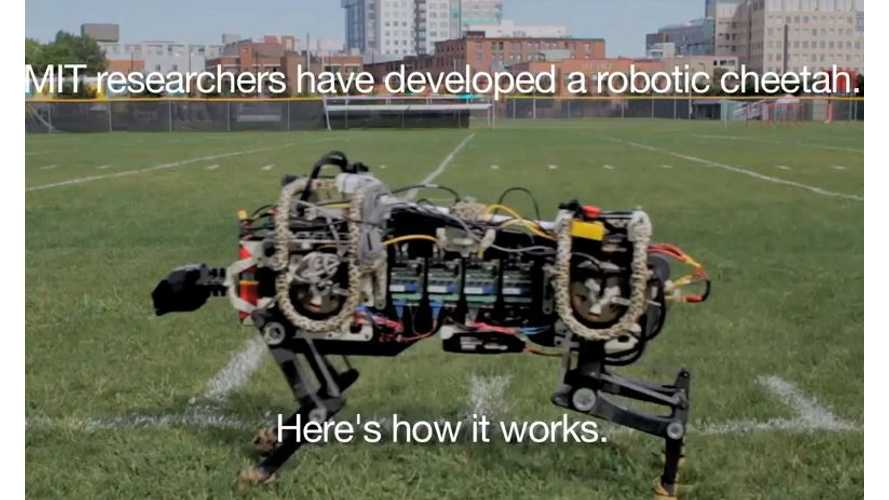 See MIT's Electric Robotic Cheetah In Action - Video