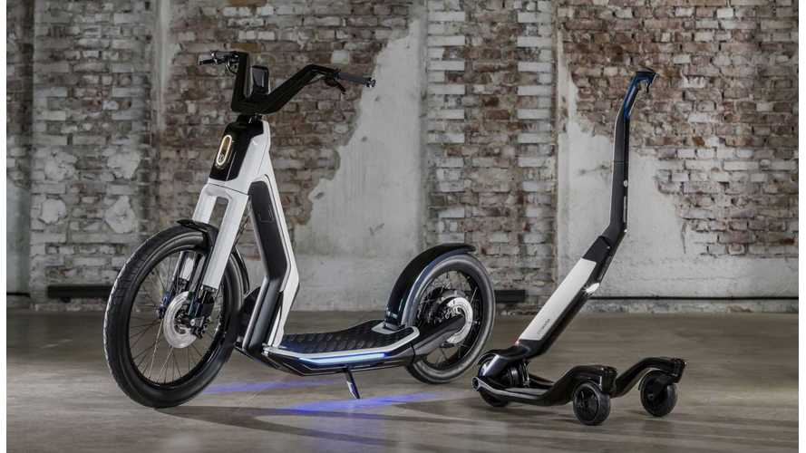 VW Reveals More Electric Concepts: Streetmate & Cityskater Scooters!