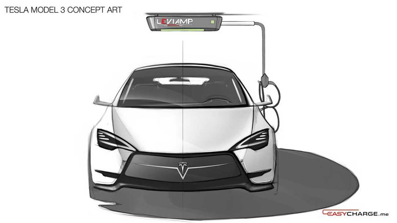 Fully Charged Presents Leviamp Ceiling Charging Station From Easycharge