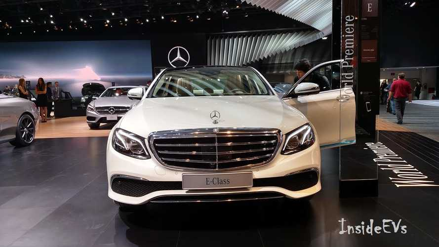 Lifecycle Analysis Comp: Mercedes E 350e PHEV CO2 Emissions Down 44%