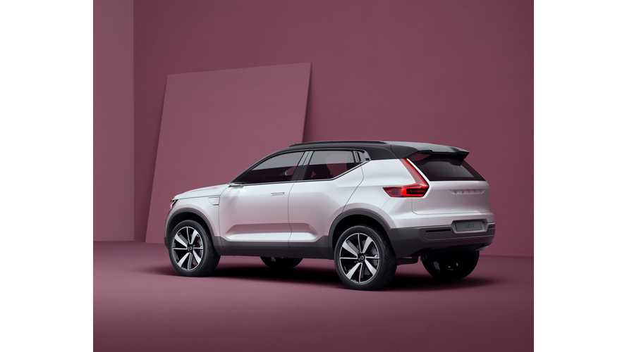Sales Of Volvo XC40 PHEV To Begin In 2018