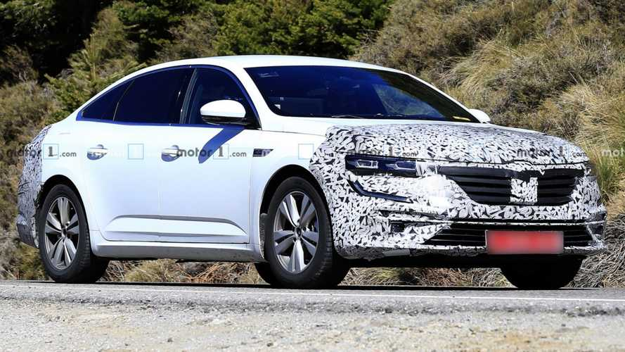 Renault Talisman Spied Preparing For Minor Refresh [UPDATE]