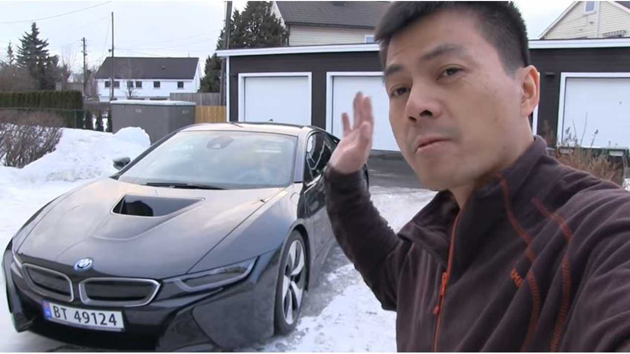 Check Out Bjorn S Bmw I8 Test Drive Fake Exhaust Sounds Ftw