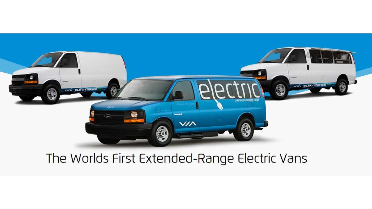 VIA Extended Range Van Choices