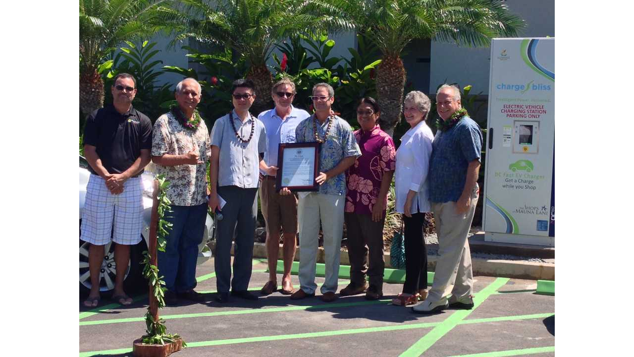 First DC Fast Charger Reaches The Big Island