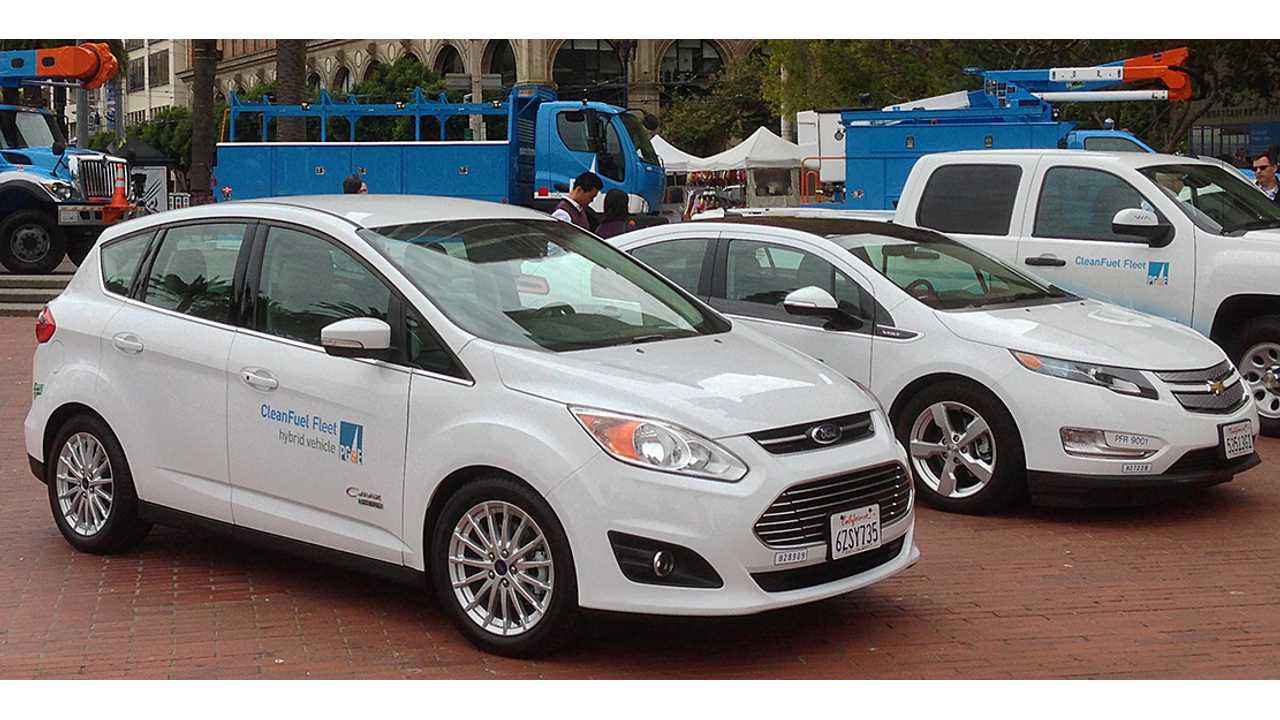 PG&E Will Install 7,500 Charging Stations In California