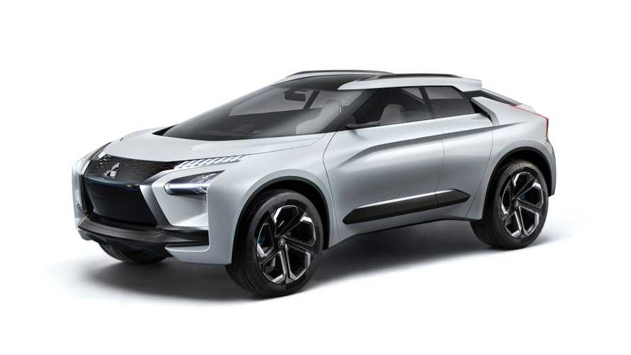 Mitsubishi e-EVOLUTION Concept Unveiled