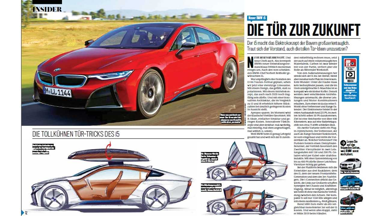 Bmw I5 Coming In 2018
