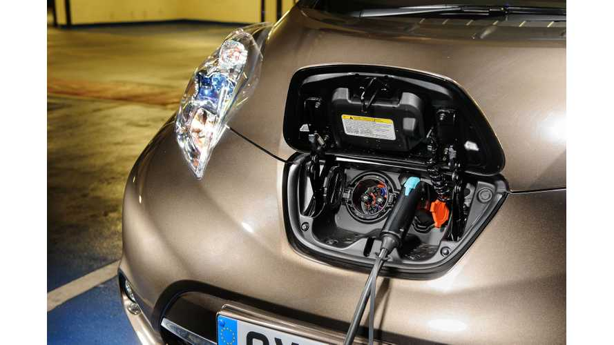 Nissan: More EV Charging Stations Than Fuel Stations By 2020