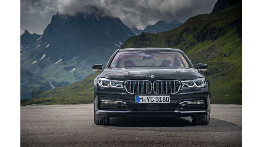 2019 BMW 7 Series To Get 390 HP Plug-In Hybrid Variant