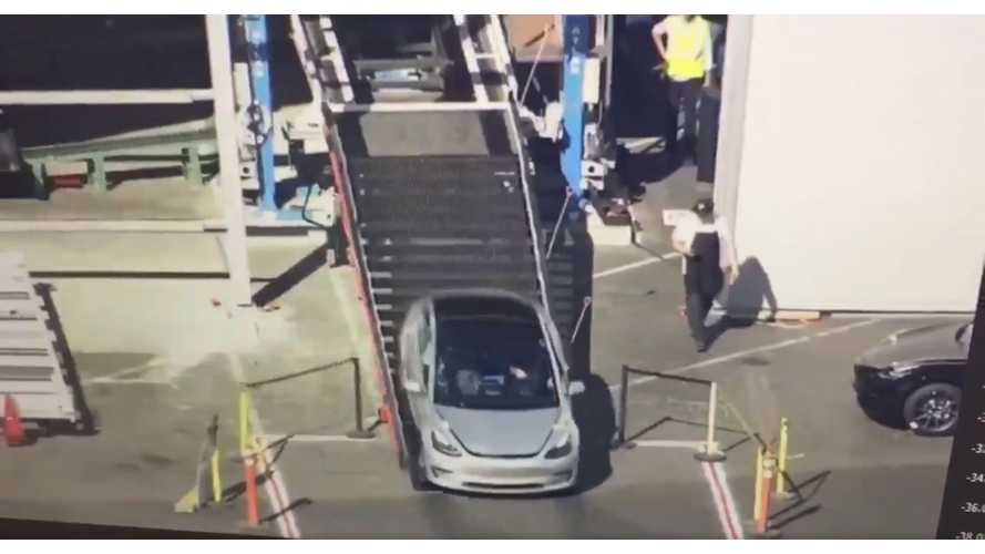 Check Out A Flyover Of The Tesla 'Tent' And Fremont Factory