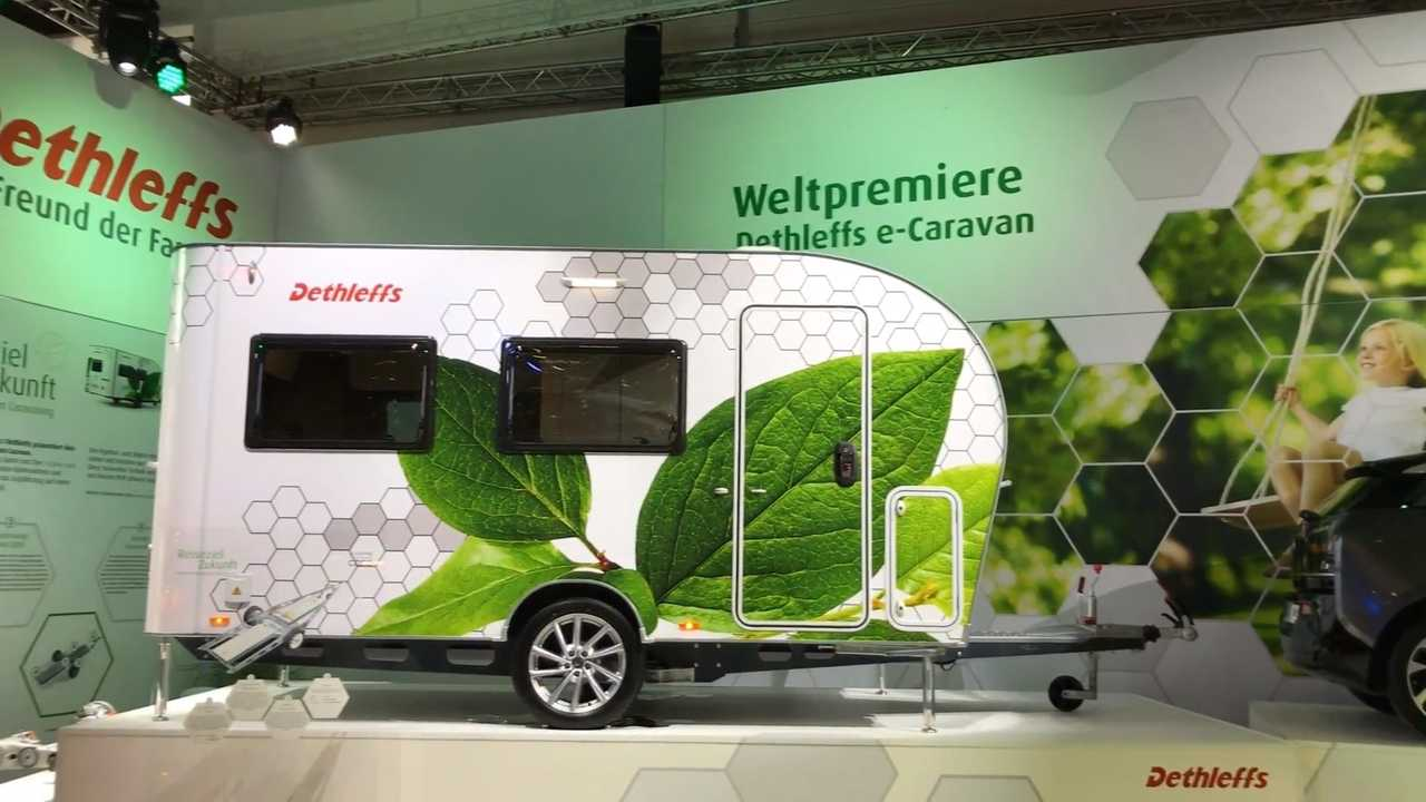 Electric Camper Pulls Its Own Weight, Acts As Powerwall