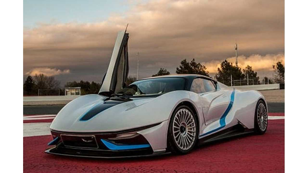 BAIC Electric Supercar Aims For Tesla's Premium EV Market Segment
