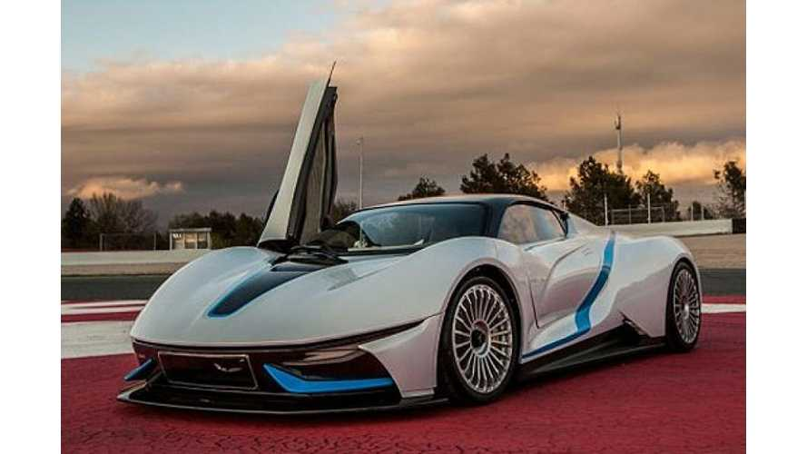 BAIC Electric Supercar Aims For Tesla's Premium EV Market Segment