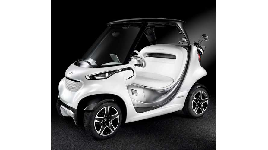 Mercedes-Benz Unveils Mercedes Style Edition Garia Golf Car (w/videos)