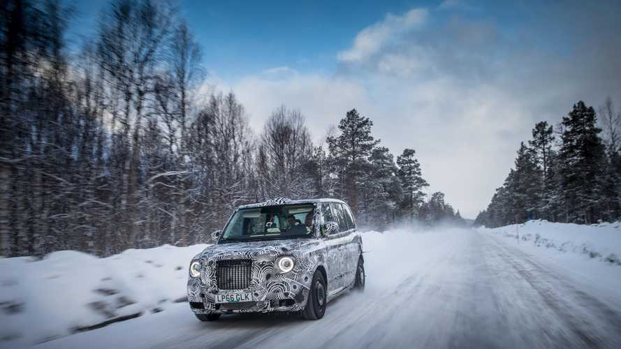 London Taxi Company Takes Its Plug-In Taxi To The Arctic Circle For Testing (w/Video)