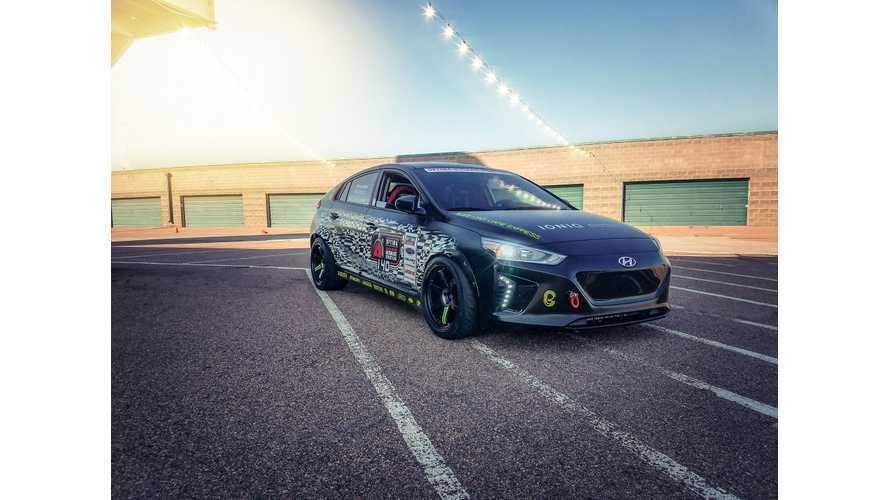 Hyundai IONIQ Electric Comes Packing Kona Motor To Defend Race Title