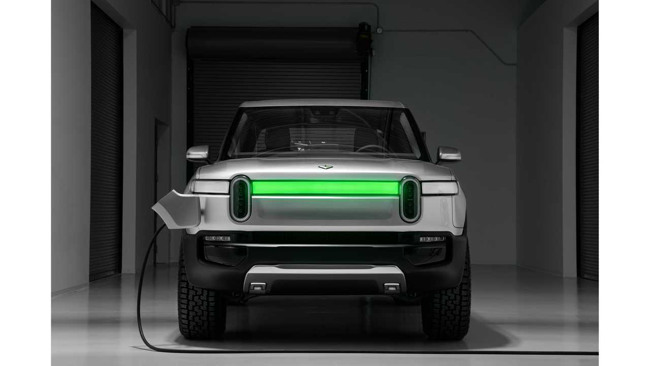 It Seems Rivian R1T Truck Houses A 2170 Double Stack Battery Pack