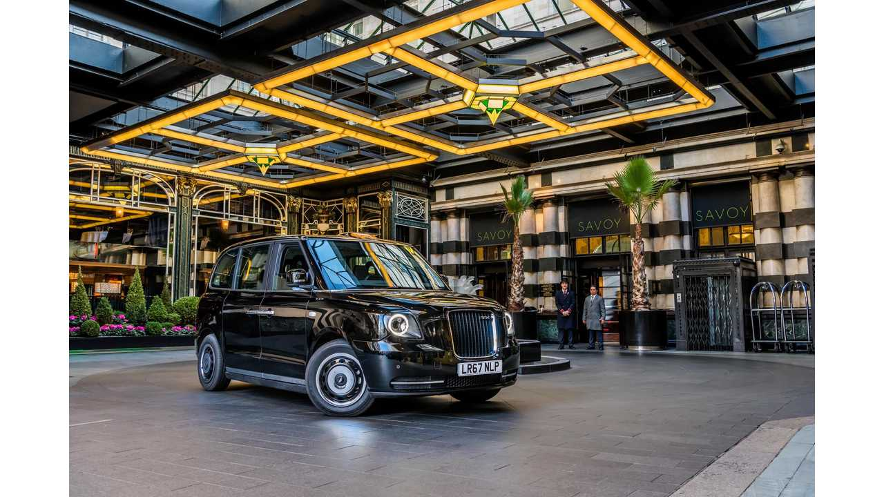Electric Black Cab Heads To Scotland For Duty