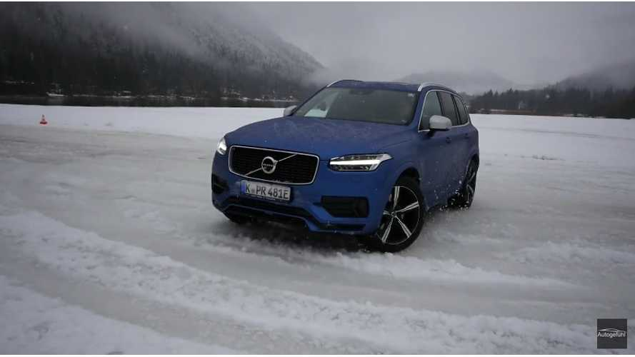Deep Test Drive Review Of Volvo XC90 T8 Twin Engine (R-Design) - Video