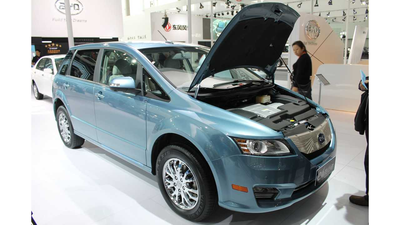 2016 BYD e6 To Get Increased Range
