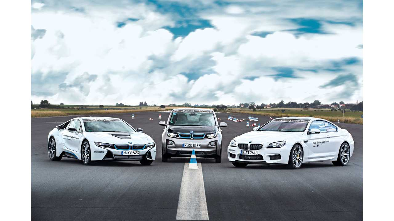 BMW Opens i8 Driving Experience Course In Germany