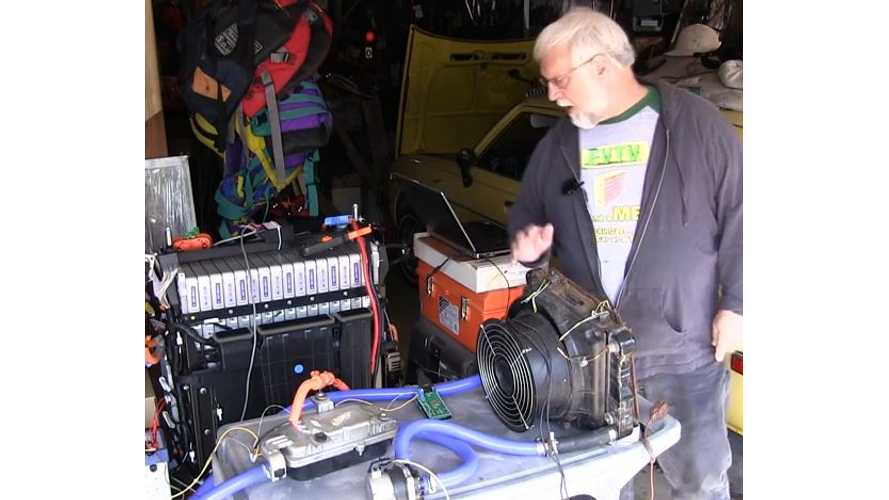 EVTV's Mark Weisheimer Explores Chevrolet Volt's Coolant Heater System - Video