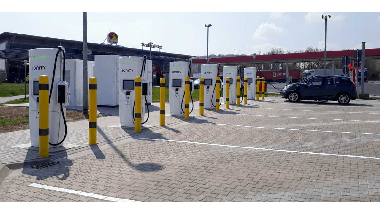 IONITY fast charging station in Brohltal-Ost, Germany (source: electrive.com)