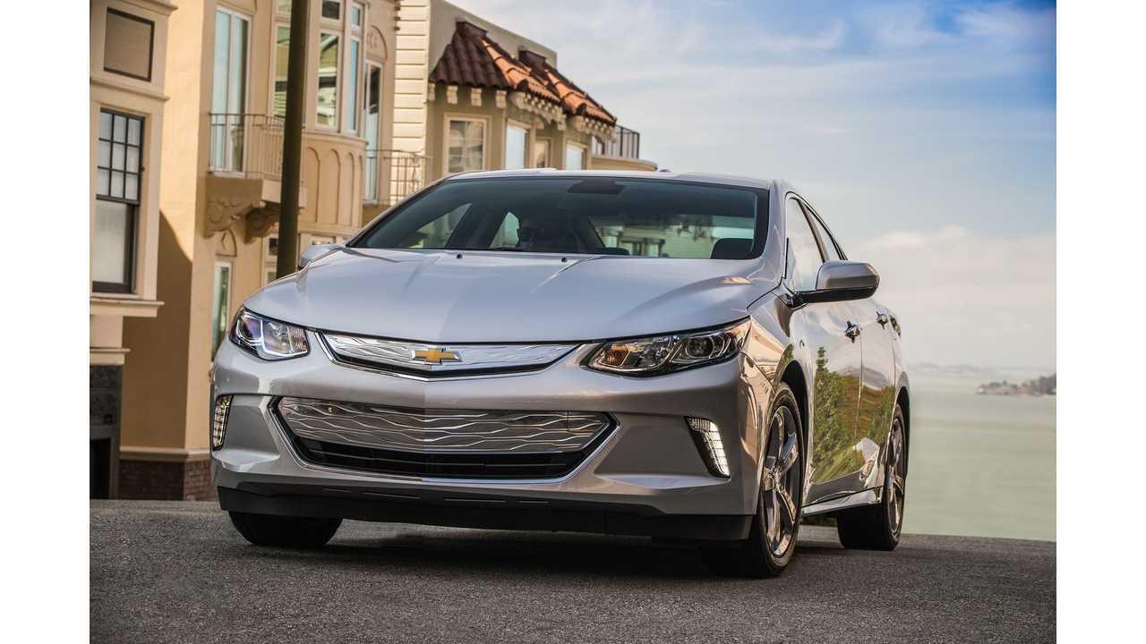 New York Daily News Awards 2016 Chevrolet Volt As