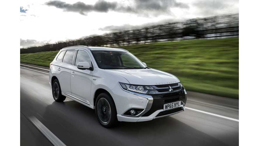 Mitsubishi Doesn't Expect Outlander PHEV Sales To Drop In UK Despite Grant Being Cut In Half