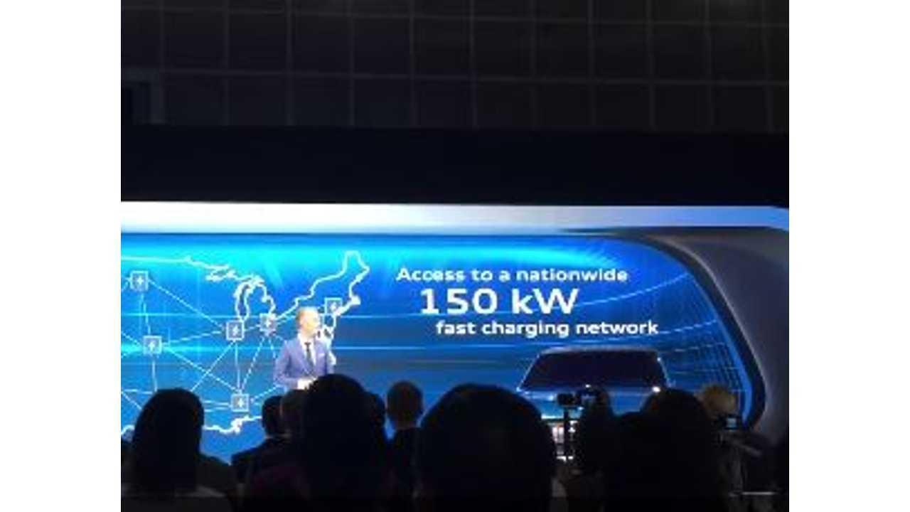 Audi Announces Nationwide 150 kW CCS Network