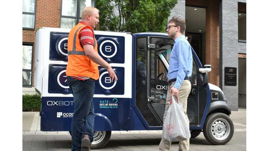 CargoPod EV Will Deliver Groceries Autonomously In London
