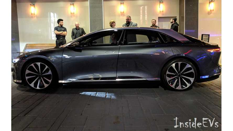 Lucid Air Hits The LA Auto Show Stage
