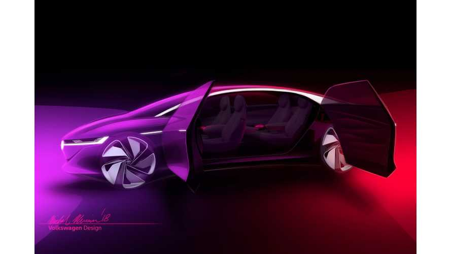 UPDATE: Volkswagen I.D. Vizzion Boasts Massive 111-kWh Battery, 413-Mile Range
